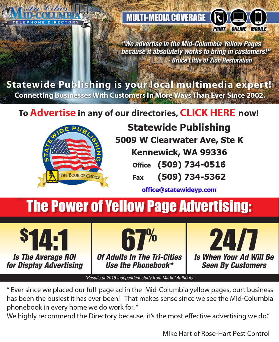 Tri-City Yellow Pages